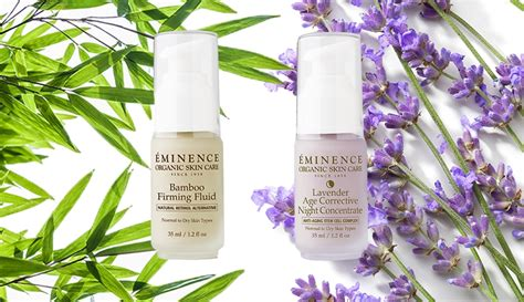 Eminence Handmade Organic Skin Care - better together age gracefully with two eminence organics