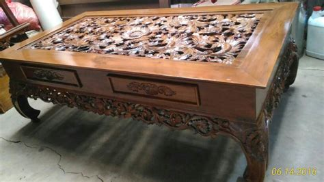 Meja Jati Ketapang jual meja ketapang jati meja ukiran jati meja kayu jati