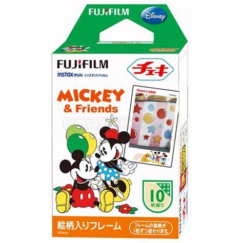 Instax Paper Mickey And Friends fujifilm instax mini mickey friends