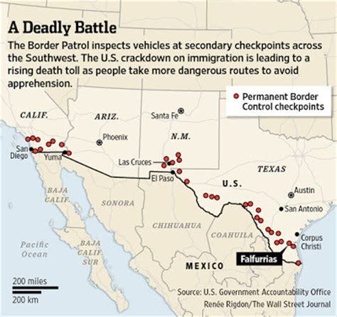 border patrol checkpoints texas map hla oo s general amnesty for all 20 million illegals in usa