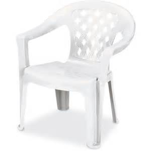 us leisure resin big and lowback chair white