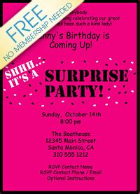 surprise party invitation template gangcraft net