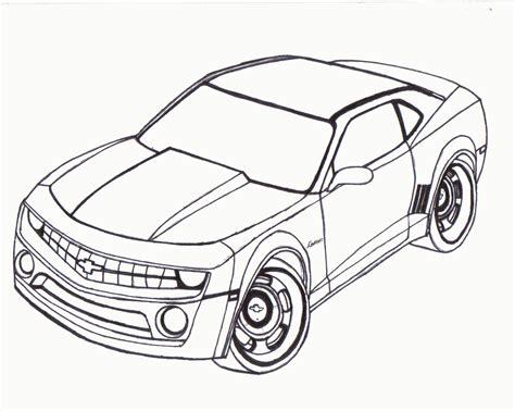 Chevy Camaro Coloring Page Coloring Home Camaro Coloring Pages