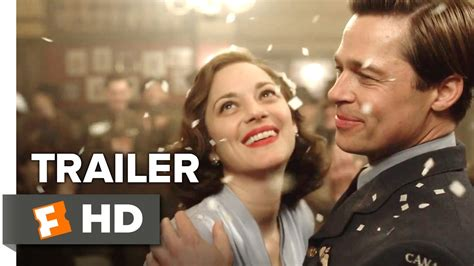 Allied Search Allied Official Trailer 1 2016 Brad Pitt