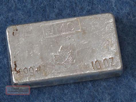 10 Oz Silver Bar Value Canada - johnson matthey canada maple leaf 999 silver 10 oz bar