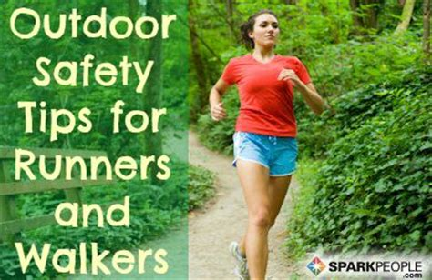 running safety tips runners running and walking on