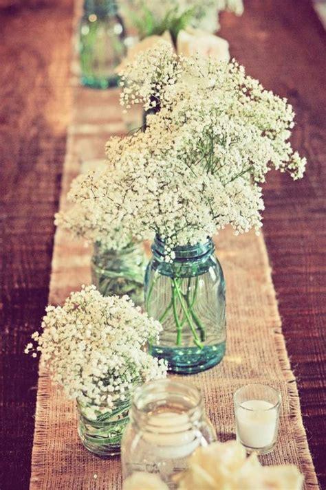 Single Wine Bottle Holder by 68 Baby S Breath Wedding Ideas For Rustic Weddings Deer