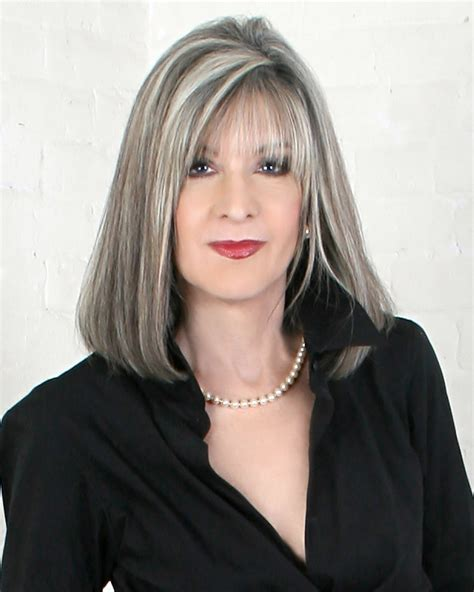 platinum hair with dark highlights for women60 years old digging up the facts with award winning investigative