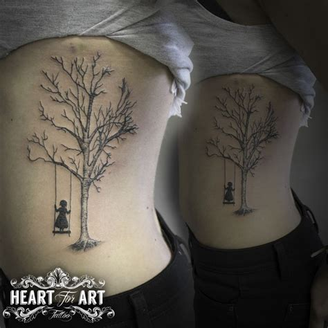 tree swing tattoo tattoo pinterest