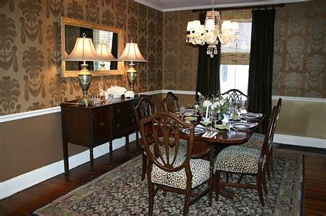 gold wallpaper dining room fresh wallpaper ideas dining room throughout dining 18171