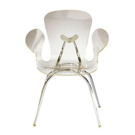 Clear Acrylic Dining Chairs Lumisource Acrylic Dining Chair Clear