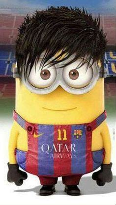 wallpaper minion barcelona 1000 images about grappige voetbal on pinterest toni