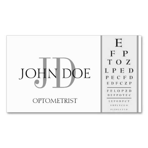 optometry business cards templates free 270 best images about eye doctor business cards on