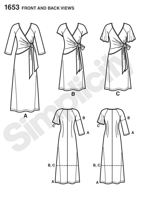 pattern review for simplicity 1653 simplicity 1653 misses and plus dress sewing pattern
