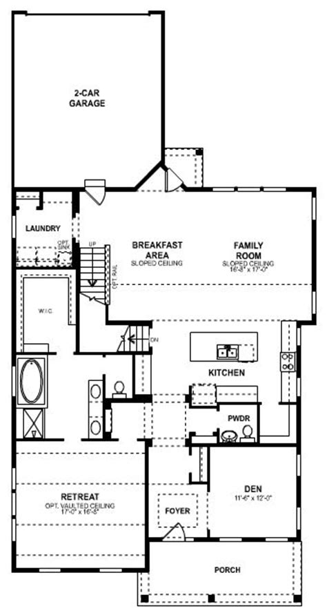 mi homes ranch floor plans house design plans