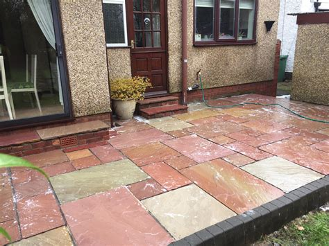 patio cleaning cheshire total gleam