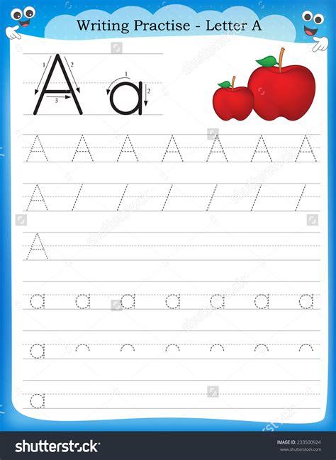 handwriting sheets for kindergarten for practice cursive letters