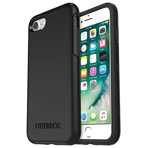 Otterbox Mysymmetry Clear Iphone 66s Black Limited otterbox symmetry clear series for iphone 8 7 frustration free packaging black