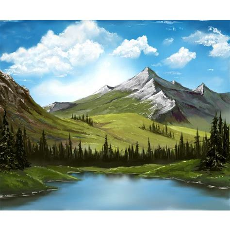 bob ross painting lake 17 best ideas about bob ross paintings on bob