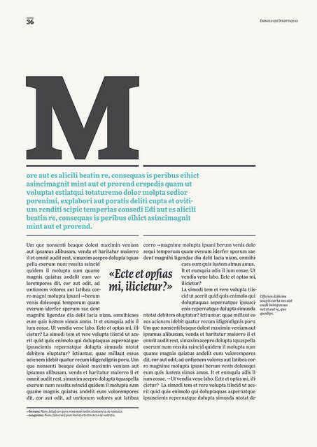 magazine layout hierarchy ff more via flickr making long passages of type with