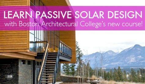interior design certificate boston bac passive solar design course