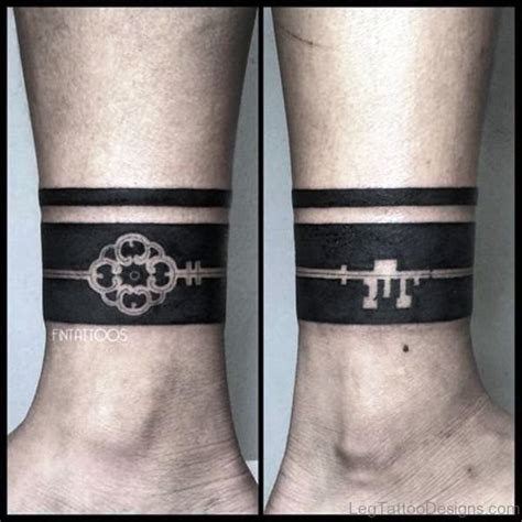 thigh band tattoo designs 53 classic band tattoos on leg