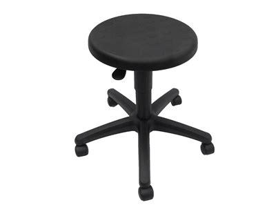 werk bx firm stool pu black premier office furniture