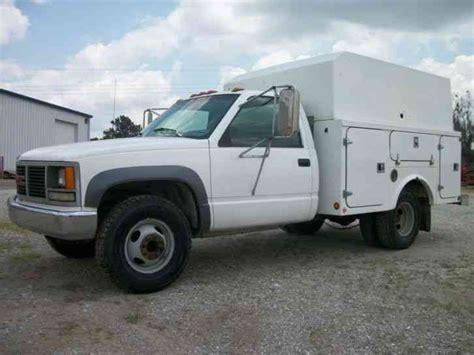 gmc 3500 1 ton 1993 utility service trucks
