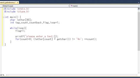 Search C How To Search A Palindrome From Word Phrase Or Sentence Using C Programming Language
