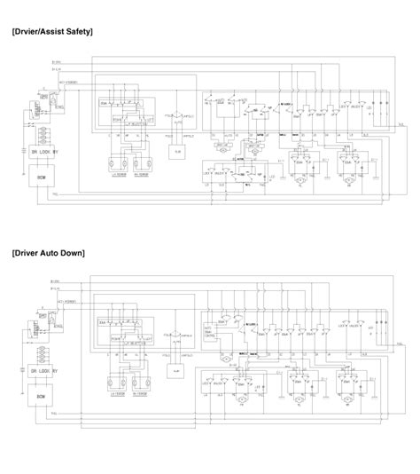 kia soul power window switch circuit diagram power