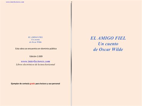 libros resumen de el pr 237 ncipe el amigo fiel oscar wilde cuento narrado y laminado pps el amigo fiel de oscar wilde