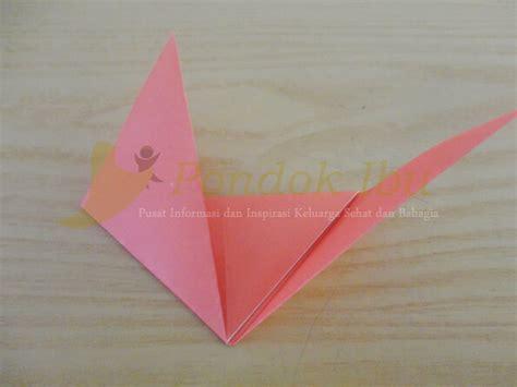 cara membuat origami arnab membuat origami wajah serigala