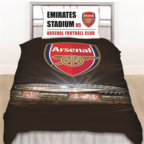 arsenal quilt official football club duvet cover sets chelsea