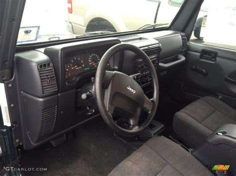 2005 jeep unlimited interior 2005 jeep wrangler x 4x4 interior photos gtcarlot com