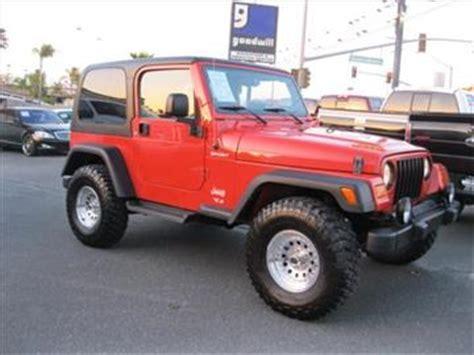 2006 Jeep Wrangler For Sale 2006 Jeep Wrangler For Sale Carsforsale