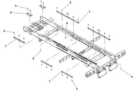 tow truck parts diagram jerr dan slide wear pad part 4679000145 this pad fits