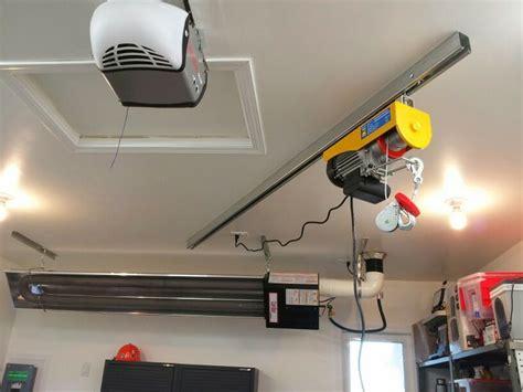 garage jib crane small overhead crane on track radiant heat and door