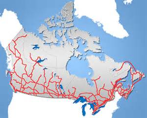 canada road maps canada highway map
