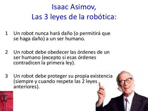 las leyes de la los robots