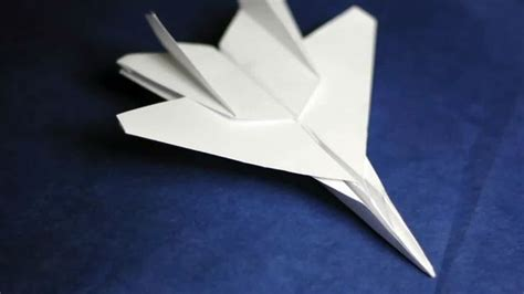 How To Make The Fastest Paper Airplane Step By Step - how to make a fast paper airplane 15 steps with pictures