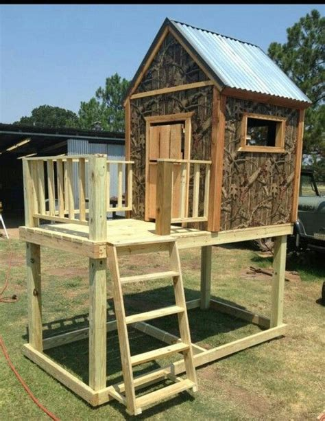 club houses for kids camo clubhouse for the kids for my bubba pinterest