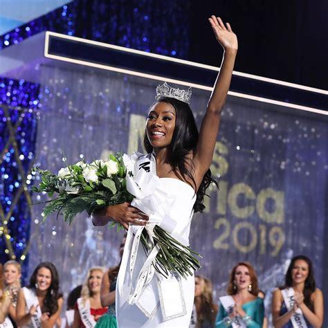 nia imani franklin opera nia franklin crowned 2019 miss america bellanaija