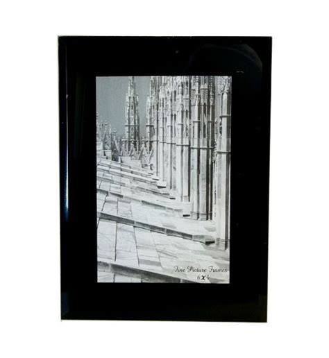 plus picture frames glass picture frames black 4x6
