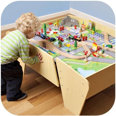 and track table plum wooden set and track activity table buy