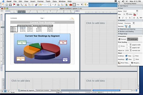 layout excel mac activemac office 2004 screenshots