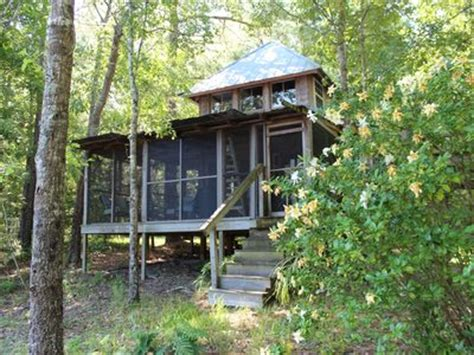 Francis Marion National Forest Cabins by Waterfront Cabin Beside Francis Marion National Forest