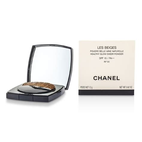 Chanel Les Beiges Compact Powder chanel les beiges healthy glow sheer powder spf 15 no