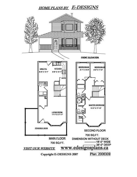 Small Two Story House Plans Narrow Lot by Small 2 Story House Plans Smalltowndjs