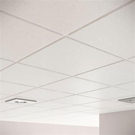 Tegular Ceiling by Sektor Plain Tegular Ceiling Tile 24mm 15mm Edge X