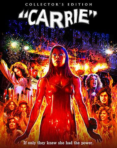 scream factory slipcovers carrie scream factory deluxe limited collector s edition